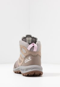 Jack Wolfskin - WOODLAND TEXAPORE MID - Hiking shoes - clay/light grey - 4