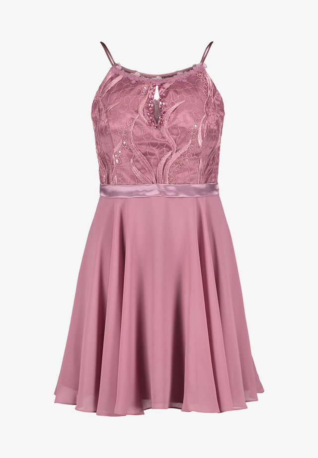 MIT CUT-OUTS - Cocktail dress / Party dress - pink