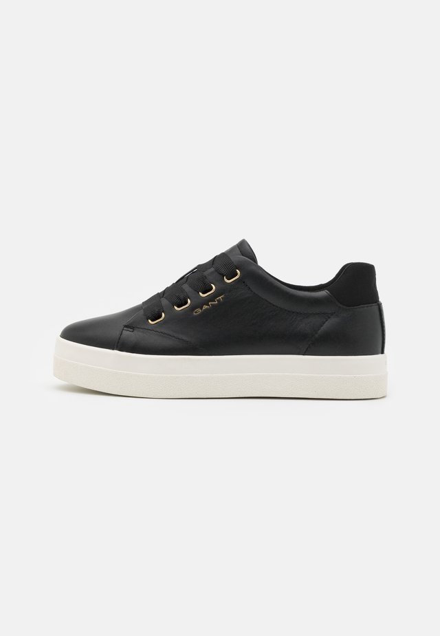 AVONA - Sneakers basse - black