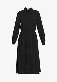 Moss Copenhagen - CADDY BEACH DRESS - Skjortekjole - black - 4
