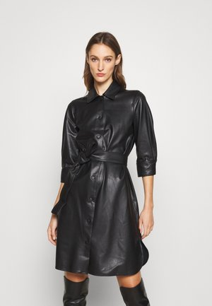 BRONTE - Shirt dress - nero