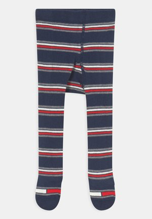 BABY STRIPES UNISEX - Tights - blue