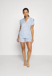 Calida - V & R Damen - Pyjamas - placid blue - 1
