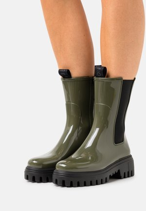 CITY - Wellies - military green