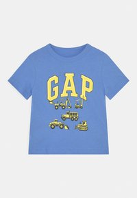 GAP - TODDLER BOY - Camiseta estampada - moore blue - 0