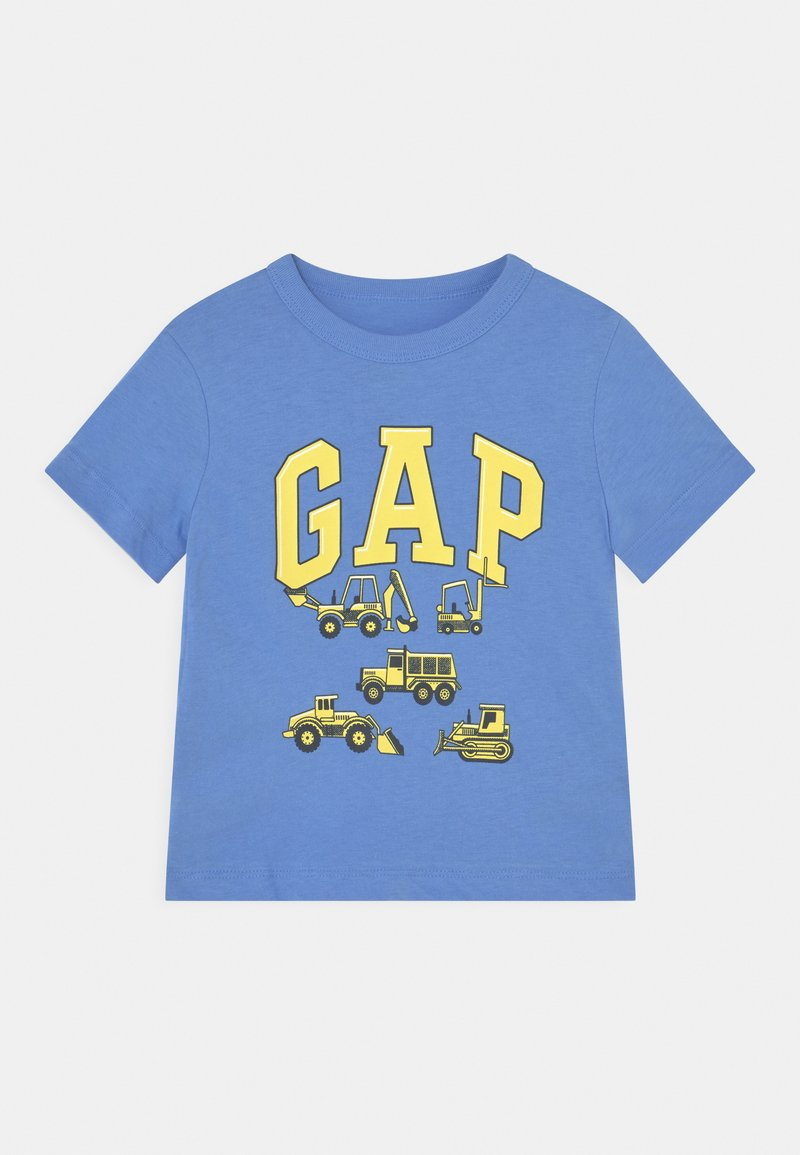 GAP - TODDLER BOY - Camiseta estampada - moore blue