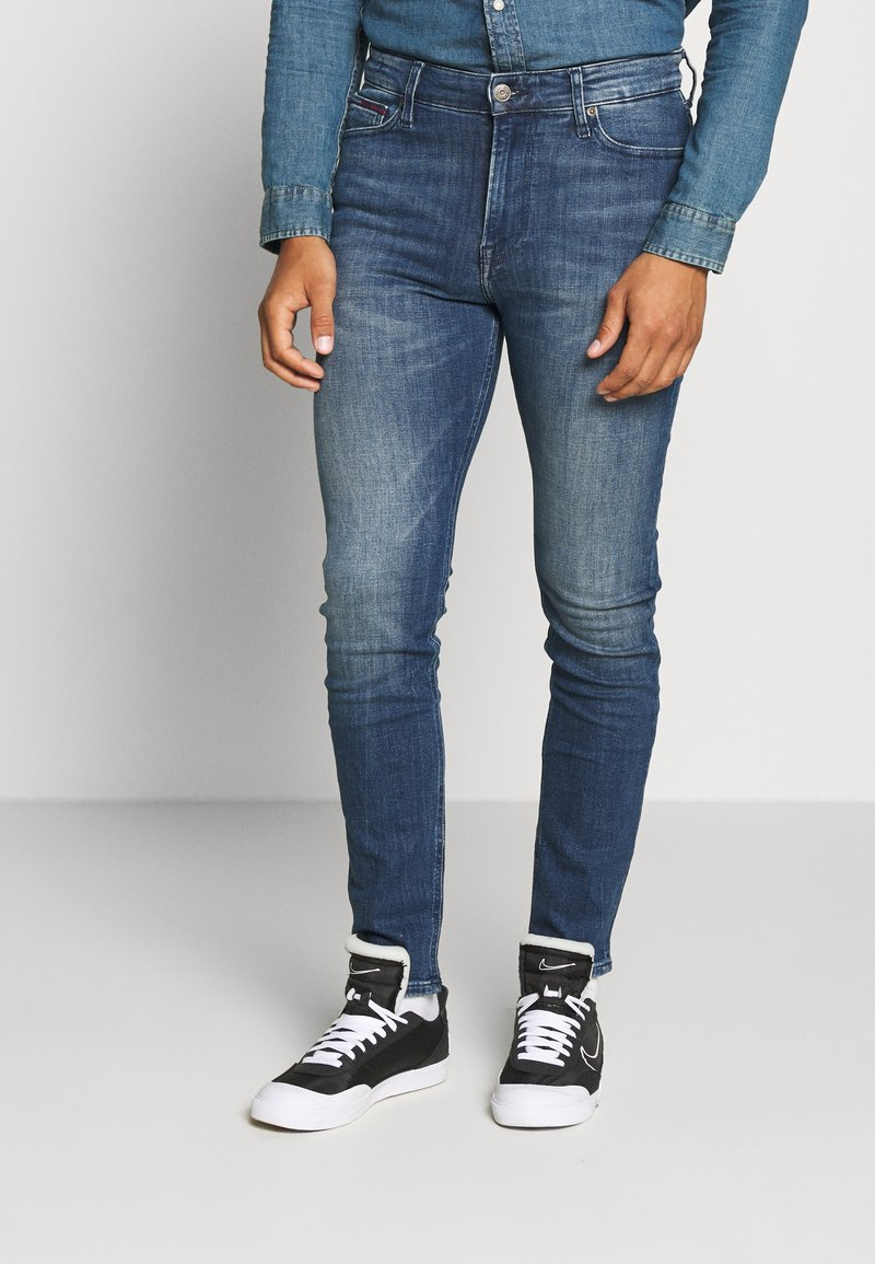 Tommy Jeans - SIMON - Jeans Skinny Fit - dark blue denim