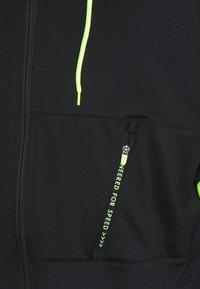 Nike Performance - DRY STRIKE SUIT - Tracksuit - black/volt - 6