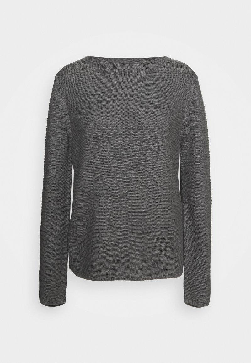 Marc O'Polo - SMALL LINKED ON COLLAR - Jumper - middle stone melange