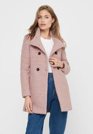 SOPHIA - Classic coat - burlwood