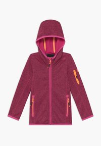 CMP - FIX HOOD UNISEX - Fleece jacket - pink - 0