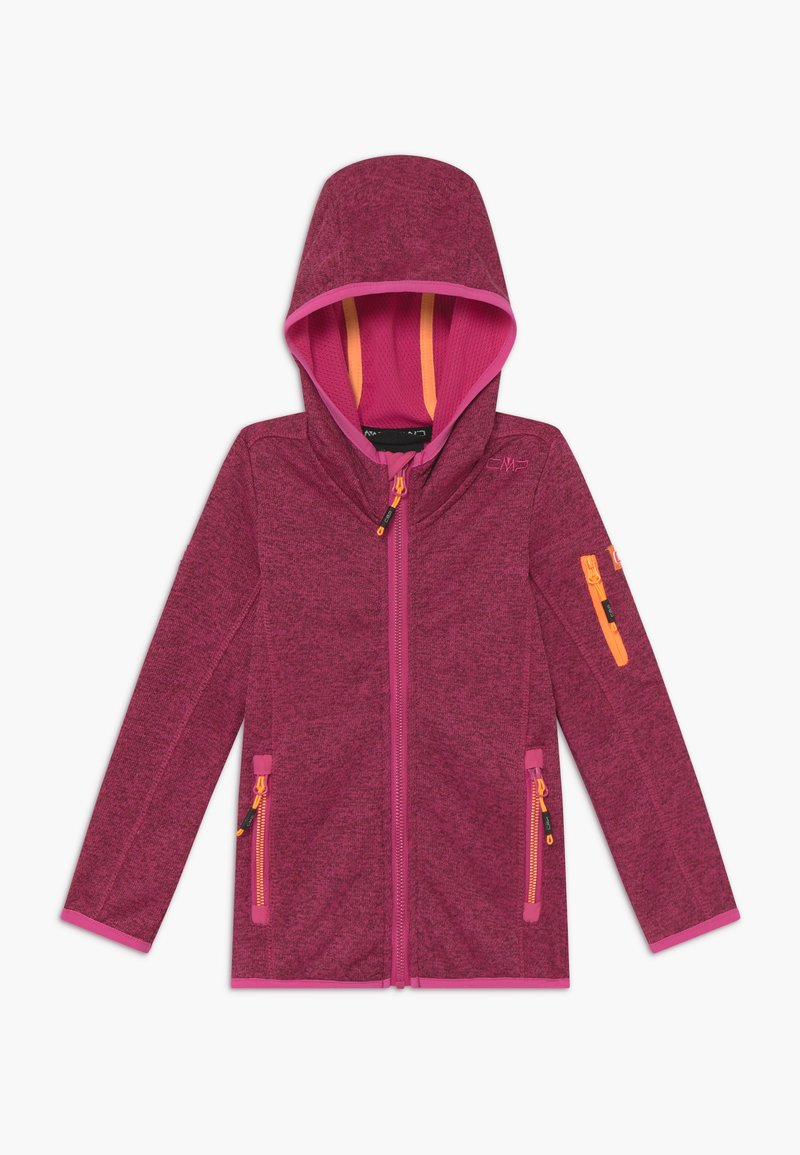 CMP - FIX HOOD UNISEX - Fleece jacket - pink