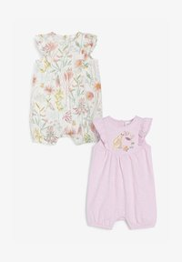Next - 2 PACK  - Jumpsuit - pink, off-white - 0