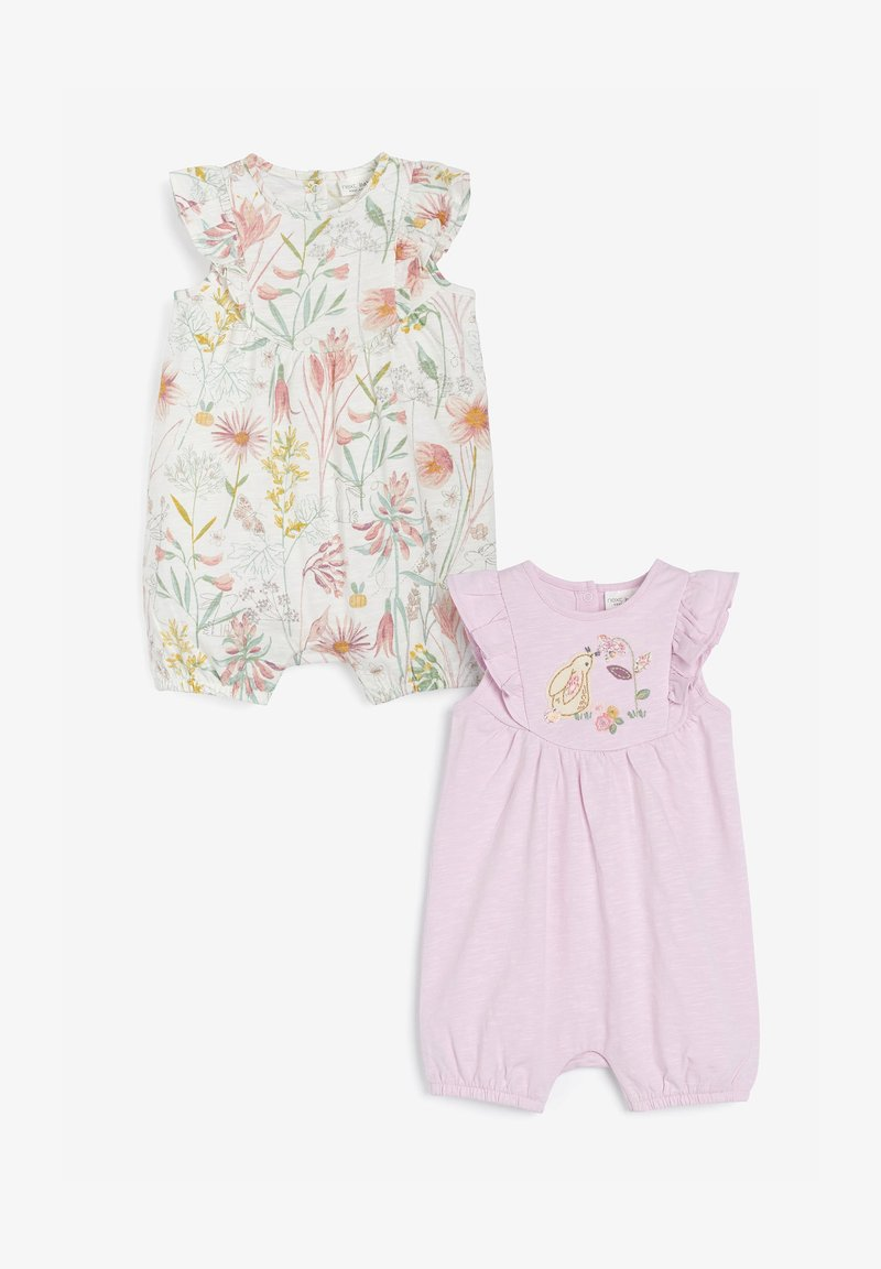 Next - 2 PACK  - Jumpsuit - pink, off-white