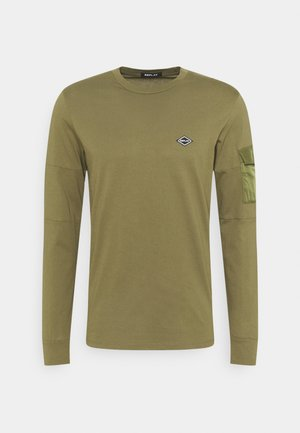 Pitkähihainen paita - military green
