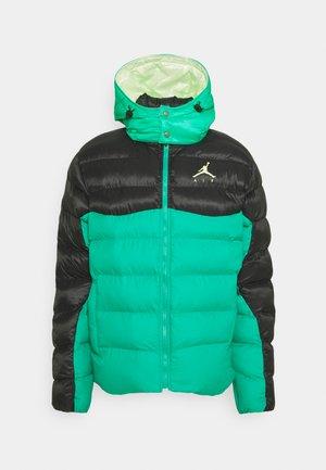 JUMPMAN AIR PUFFER - Zimní bunda - neptune green