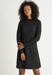 ONLY - ONLKLEO - Shift dress - dark grey melange - 0