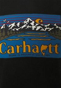 Carhartt WIP - GREAT OUTDOORS - Printtipaita - black - 2