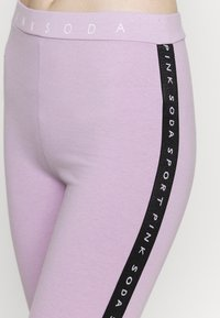 Pink Soda - CONGO TAPED - Leggings - lilac melange - 4