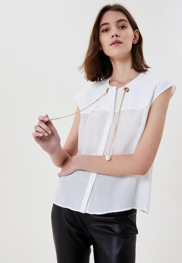 LIU JO Bluzka - white/biały MSOK