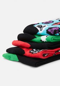 Jack & Jones - JACANGUS SOCK 5 PACK - Socks - red/blue/black - 2
