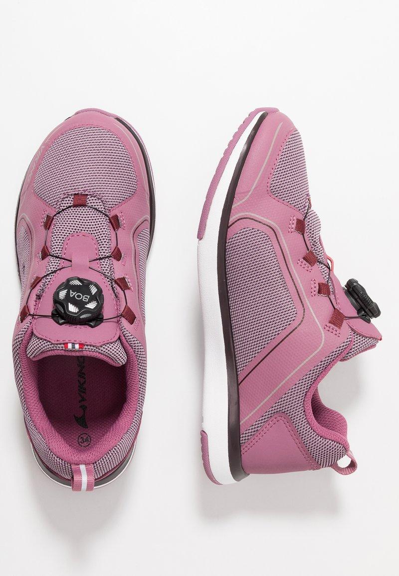 Viking - SEIM BOA GTX - Løbesko walking - dark pink/violet