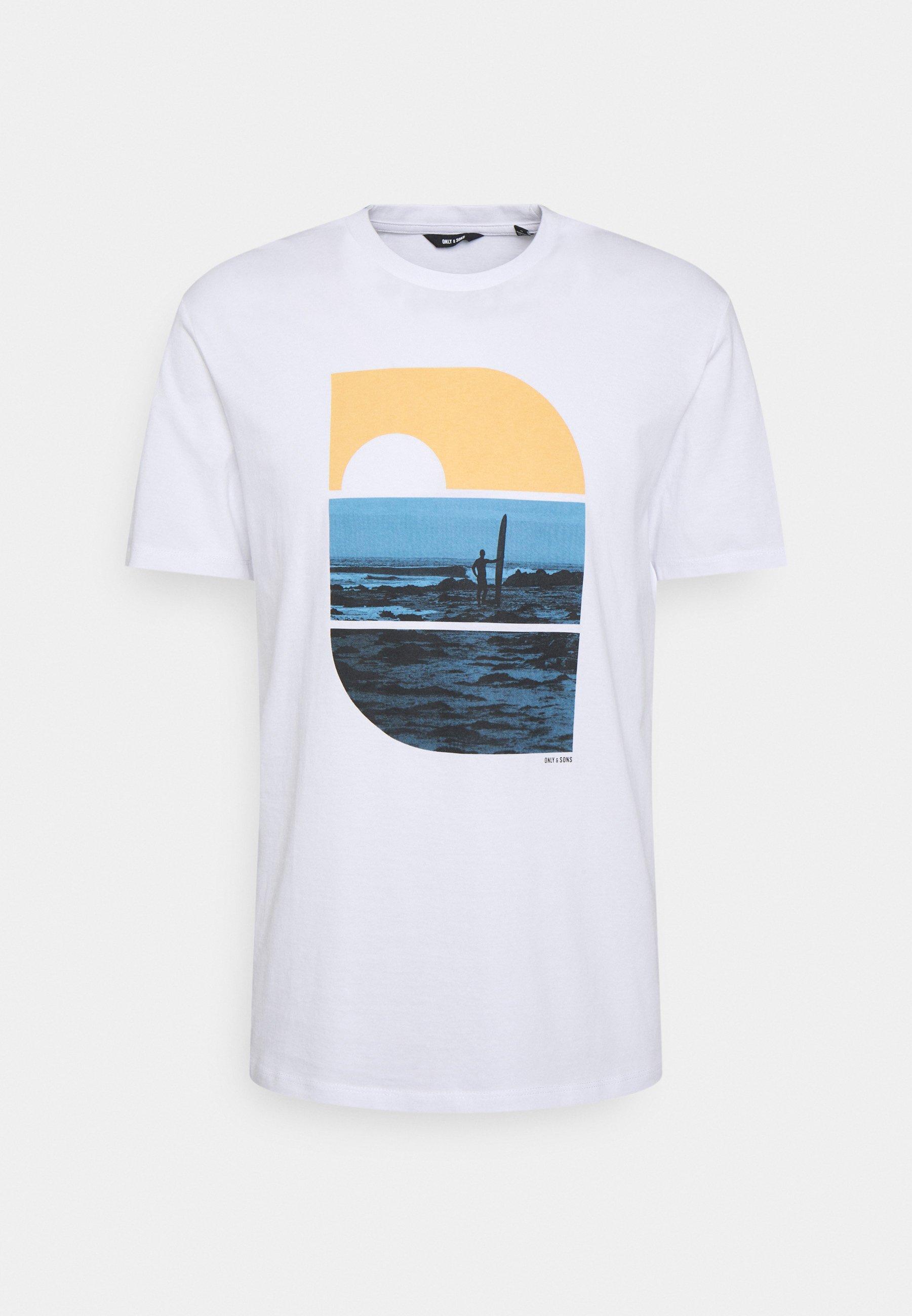 Men ONSPLAZA LIFE TEE - Print T-shirt