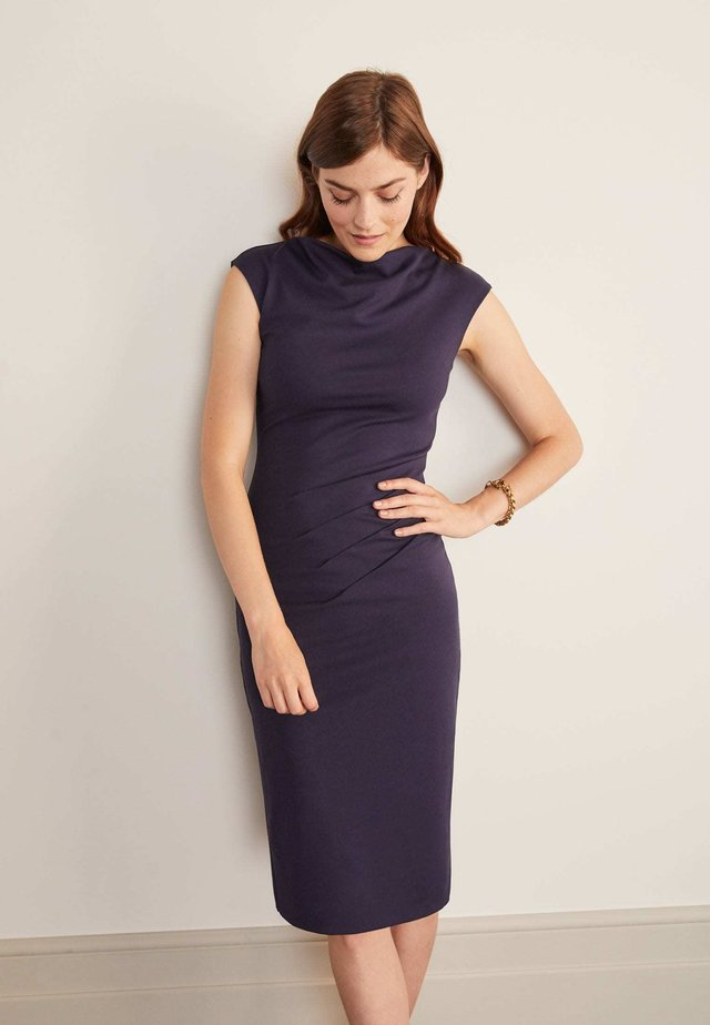 NATALIE - Shift dress - navy