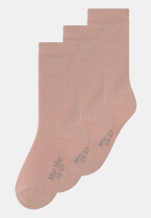 3 PACK UNISEX - Sokken - rose