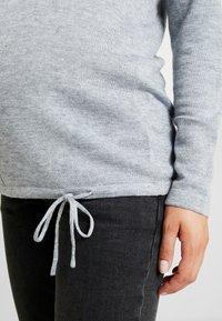 Ripe - DRAW STRING - Stickad tröja - silver - 4