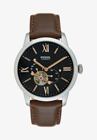 Fossil - TOWNSMAN - Watch - dunkelbraun - 1