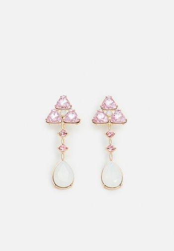 PCSANDIE EARRINGS - Earrings - gold-coloured/pink