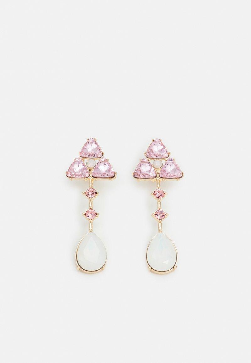 Pieces - PCSANDIE EARRINGS - Earrings - gold-coloured/pink