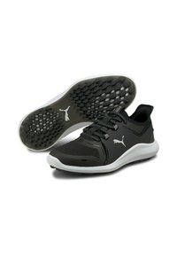 Puma - Golf shoes - puma black puma white - 1