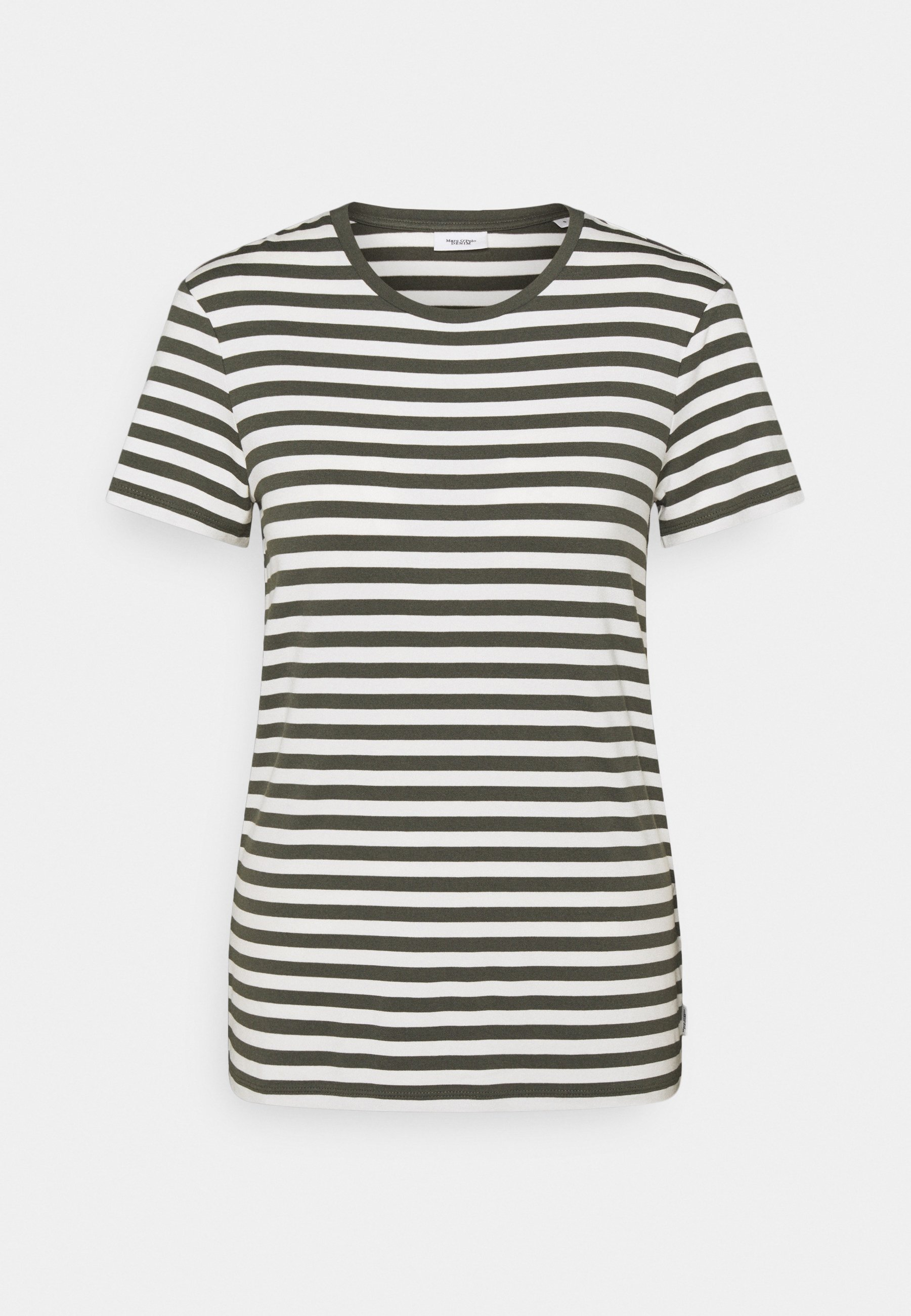 Women SHORT SLEEVE STRIPE - Print T-shirt