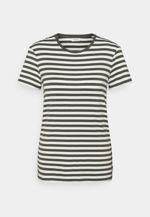SHORT SLEEVE STRIPE - Printtipaita - deep depth