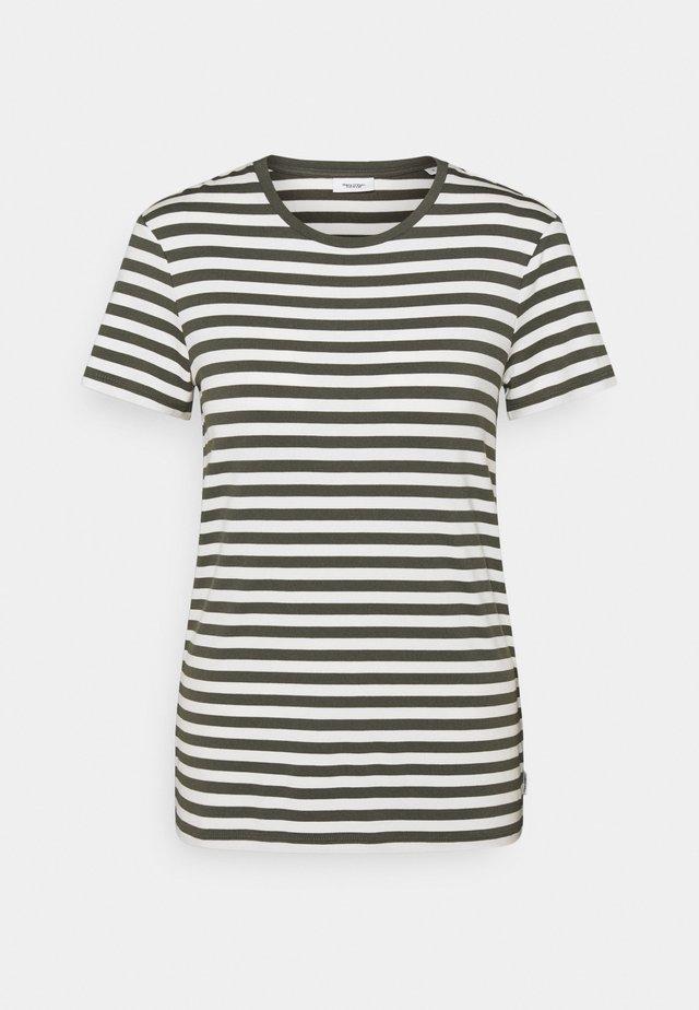 SHORT SLEEVE STRIPE - Print T-shirt - deep depth