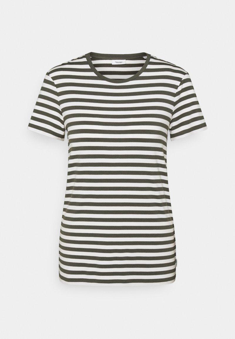 Marc O'Polo DENIM - SHORT SLEEVE STRIPE - Print T-shirt - deep depth