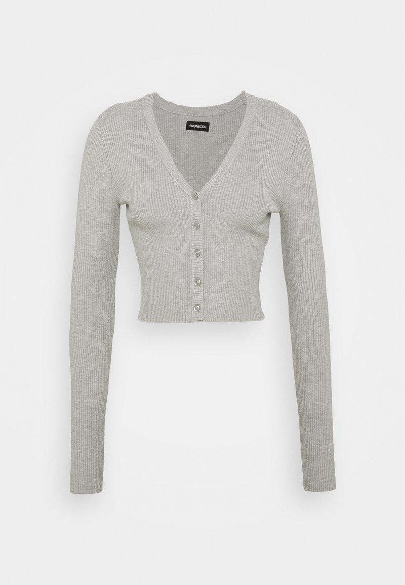 Even&Odd Tall - Cardigan - mottled light grey