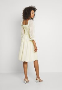 YAS - YASDEANNA 3/4 DRESS - Cocktail dress / Party dress - yellow - 2