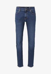 TOM TAILOR DENIM - Slim fit jeans - tinted blue denim - 0