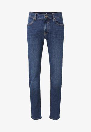 Slim fit jeans - tinted blue denim
