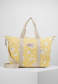 Cath Kidston - FOLDAWAY OVERNIGHT BAG - Tote bag - soft yellow - 0