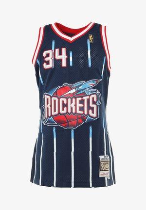 NBA HOUSTON ROCKETS SWINGMAN HAKEEM OLAJUWON - Sports shirt - navy/white