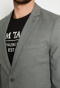 TOM TAILOR - DOBBY - Suit jacket - grey - 7