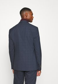 Isaac Dewhirst - DOUBLE BREASTED WINDOWPANE CHECK SUIT - Completo - dark blue - 3