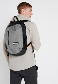 Under Armour - ROLAND  - Rucksack - graphite medium heather/black/white - 1