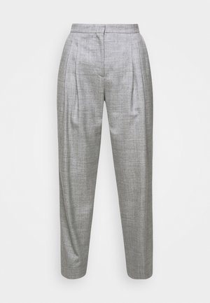 IVY PANTS - Kalhoty - grey melange