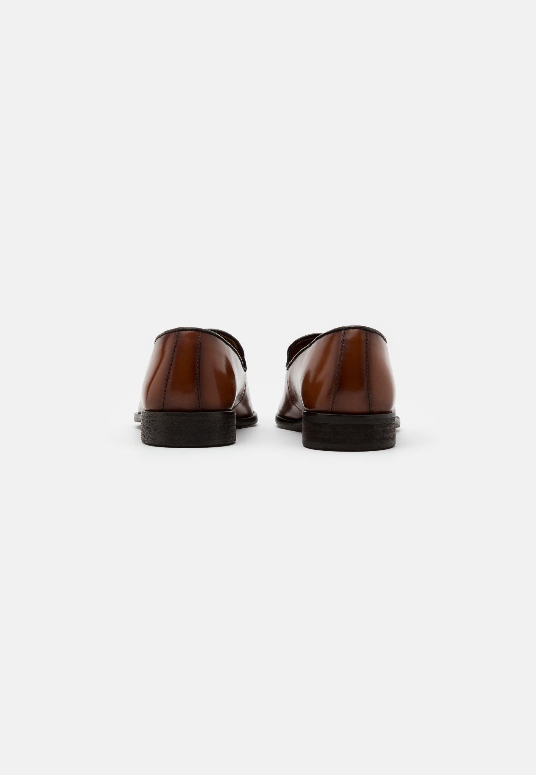 Zign Business Loafers - Cognac