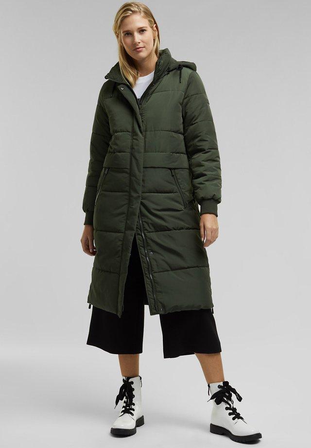 Winter coat - khaki green